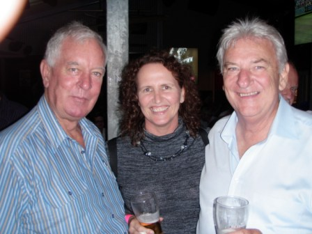 ebbc56b3a0f Mal Try (still smirking) on left with Sue Goodhew and Peter Morton